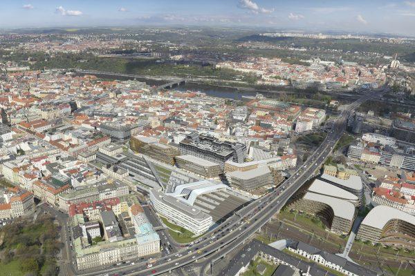 Central Business District, vizualizace | Zdroj: Penta Investments