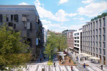 Smíchov City, vizualizace | Zdroj: Sekyra Group